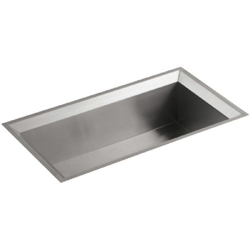 Kohler Poise Stainless Steel Large Single Bowl Kitchen Sink - 3387W